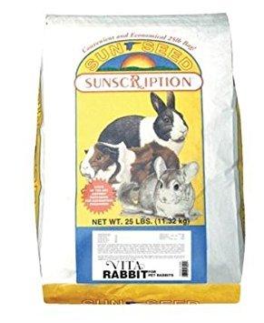 Small Animal Supplies Rabbit Vita - Mix 25Lb by Sunseed Company