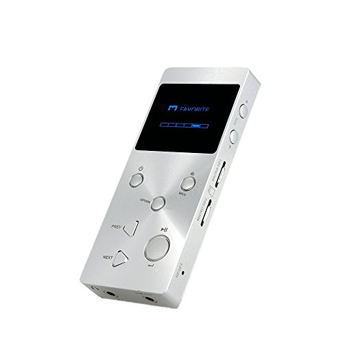 Andoer® Mini XDUOO X3 HiFi Musik Player JZ4760B Chip 24bit / 192kHz HD Format Verlustfreier Audio Player Unterstützung MP3 WMA APE FLAC WAV DSD Audio Formate