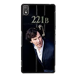 Classical Cool HBC TV Show Sherlock Holmes Phone Case Cover for Sony Xperia Z3 Sherlock Unique