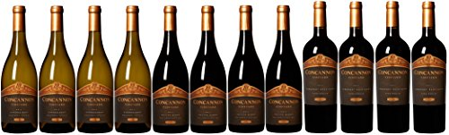 Concannon Vineyard Collection Wine Mixed Pack, 12 x 750 mL