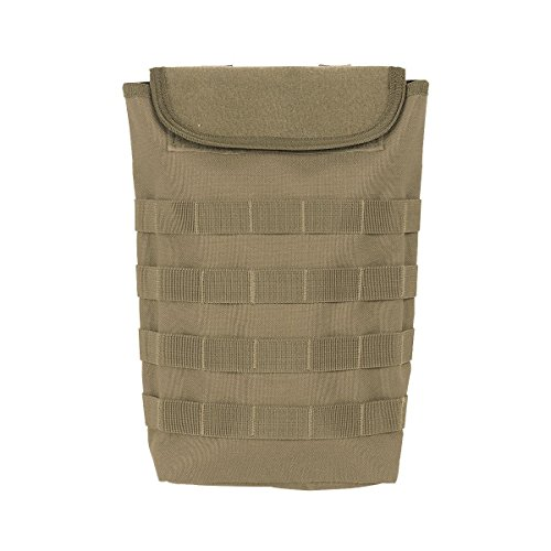 Voodoo Tactical 20-7446 MOLLE Compact Hydration Bladder Carrier Pouch Coyote Tan Tactical Hydration Carrier