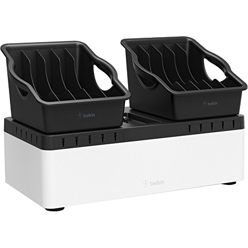 Belkin Store and Charge Go Wired Cradle for Tablet, Chromebook, Notebook, USB Device by Belkin