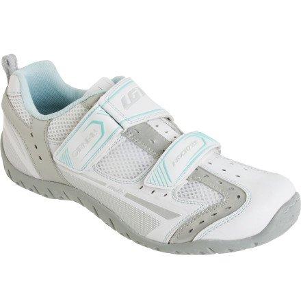 Louis Garneau Women's Multi LG Shoes-37-White ()