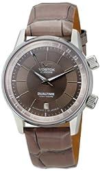 Vostok-Europe Men's 2426/5601058 Gaz-14 Limo Automatic Brown Dial Watch