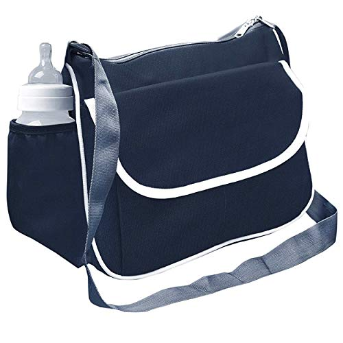 SNDIA Mother Baby Diaper Nappy Changing Bag Travel Shoulder Bag  Grey