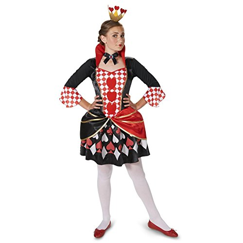 Queen of Hearts Tween Dress Up Costume 0-3 (Queen Of Hearts Shoes)