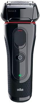 Braun Series 5 5030 - Afeitadora Eléctrica, Negro/Rojo: Amazon.es ...