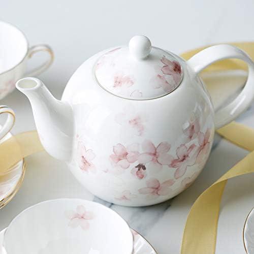 teapotty Tetera De Cherry Blossom,Cafetera,Cerámica China De Hueso ...