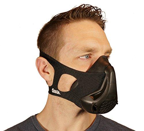 Workout Mask Training Breathing Running Sports - High Altitude Elevation Simulation - Endurance Exercise (Black, - Running Training Elite
