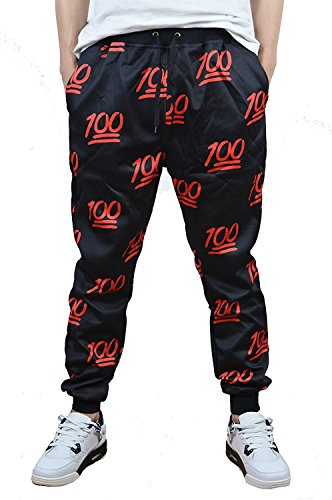 Honour Fashion Unisex Hipster Cartoon 3D Printed Tracksuit Joggers