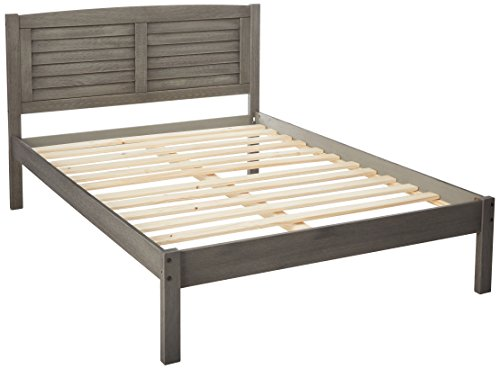 Donco Kids 212FAG Series Bed, Full, Antique Gray (Captain Full Bed Youth)