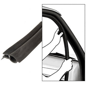 CRL Ford 1979-89 Mustang Hatch Back Weatherstrip- 1 PC Kit