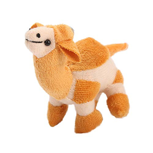 Eel Camel (Armfer Toys Stuffed Animal Keychain Plush Dolls Camel Stuffed Animal Small Wildlife Critters Dolls Pal Buddy Mini Keychain Decorations for Birthday Party Home Decoration Wall Decor and Party Favor 4