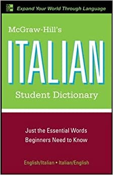 Descargar Ebook Torrent Mcgraw-hill's Italian Student Dictionary PDF Online