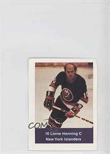 Lorne Henning (Hockey Card) 1974-75 NHL Action Album Stamps - [Base