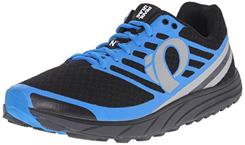 Pearl iZUMi Men EM Trail N1 v2 Running Shoe Black/Fountain Blue