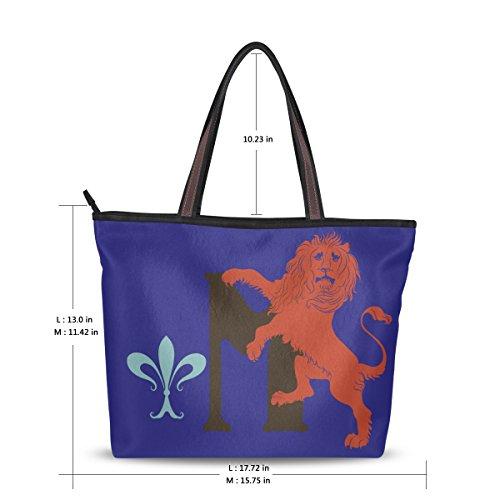 JSTEL , Damen Tote-Tasche blau blau L