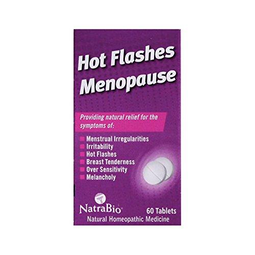 Natra Hot Flashes Bio - Hot Flashes Menopause 60 Tabs