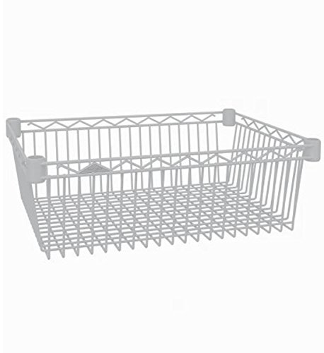 Intermetro Storage Basket (InterMETRO 18-Inch by 24-Inch Basket Shelf)