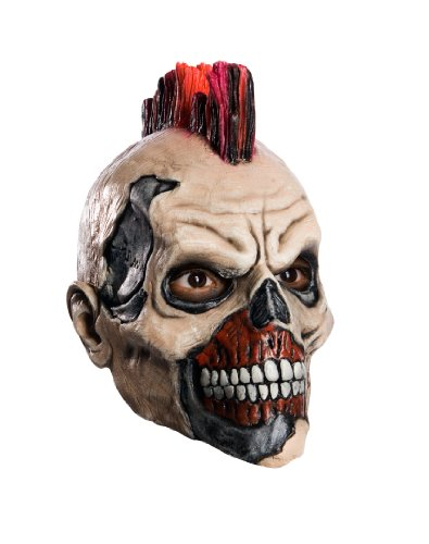 Rubie's Skate Or Die Grinder Child's 3/4 Vinyl Mask - One Size