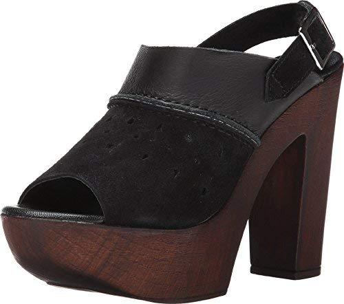CHARLES BY CHARLES DAVID Women's Tazz Black Leather Sandal