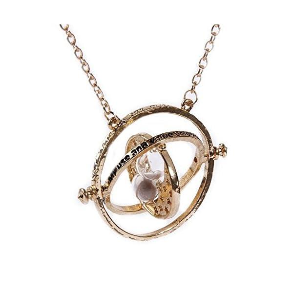Hermione Collier retourneur de temps – En forme de sablier – Doré