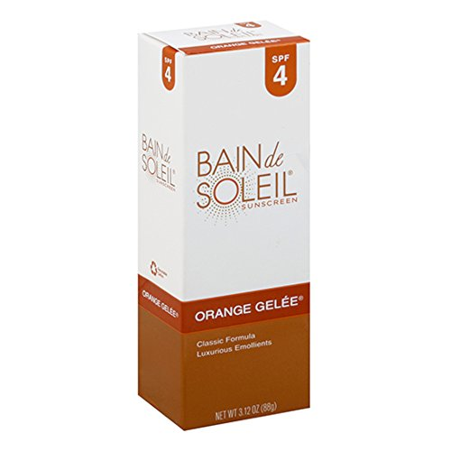 Bain de Soleil Orange Gelee Sunscreen, Tanning Lotion, SPF 4 3.12 oz by Unknown