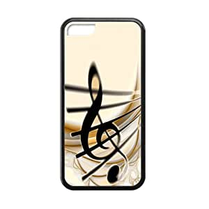 Tt-shop Custom Sound of Music Pattern For Iphone 5C (Laser Technology) HYG-19
