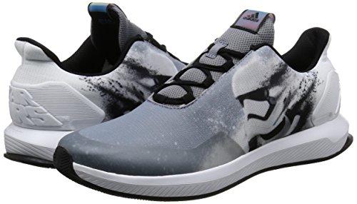 adidas Star Wars K, Sneakers Basses Mixte Enfant, Noir (Negbas/Gris/Ftwbla), 31.5 EU
