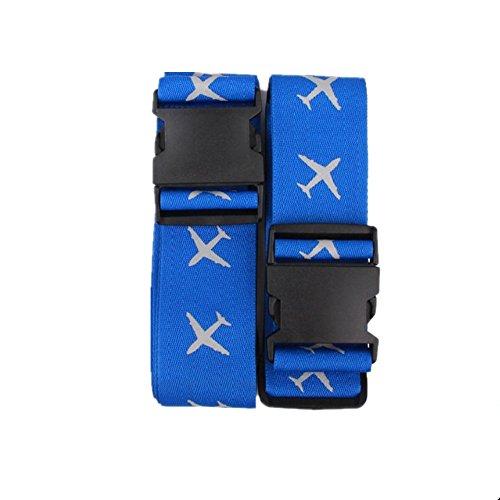IREALIST Adjustable Luggage Suitcase Security