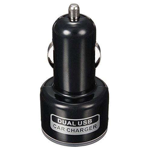 GOZAR Doble USB Puertos Zócalo Coche Cargador Adaptador para ...