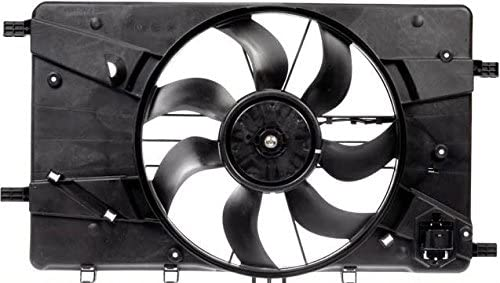 Cooling Direct For//Fit GM3115243 11-16 Chevrolet Cruze 1.4L 1st Design 12-17 Buick Verano Dual Radiator and Condenser Fan Assembly