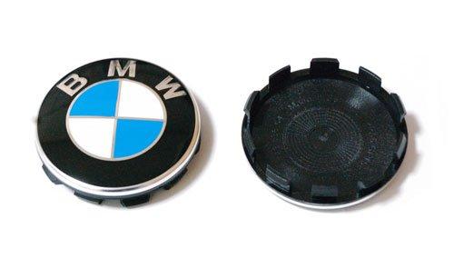 BMW純正部品(ドイツ直輸入) ホイールセンターキャップ クロームエッジ 4個セット 36136783536 B01BGNPWQG