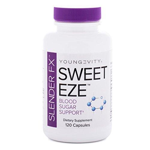 International Shipping  Slender Fx Sweet Eze 120 Capsules Blood Sugar Regulation Youngevity