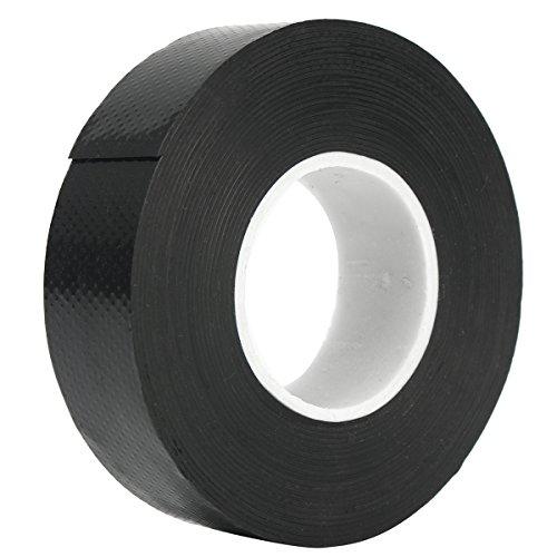 25mm x 300cm Black Rubber Waterproof Adhesive Bonding Rescue Repair Wire Tape