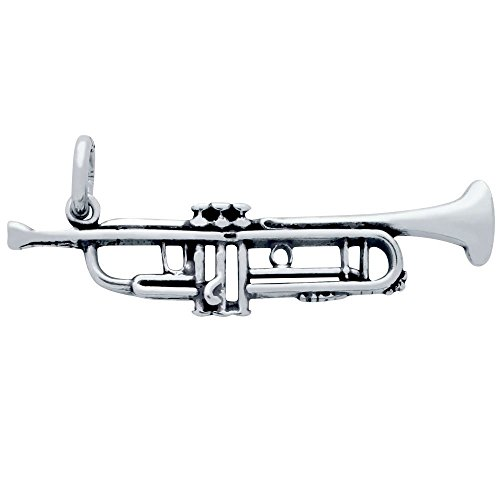 Sterling Silver Trumpet - 4