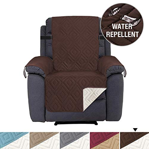 H.VERSAILTEX Recliner Cover Recliner Slipcover Recliner Protector for Pets, Seat Width Up to 22