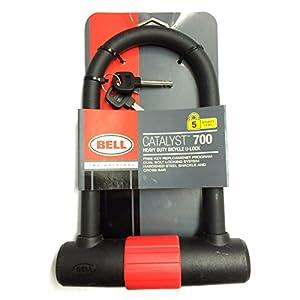 bell platinum catalyst u lock black cable bike locks sports. Black Bedroom Furniture Sets. Home Design Ideas