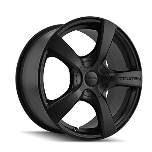 TOUREN TR9 (3190) MATTE BLACK: 18x8 Wheel Size; 5-112/5-120 Lug Pattern, 74.1mm Bore, 40mm Offset.