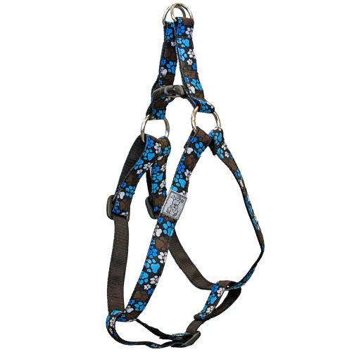 RC Pet Products 3/4-Inch Step In Dog Harness, Medium, 16-28-Inch, Pitter Patter Chocolate, My Pet Supplies
