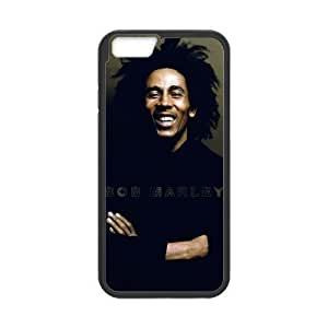 At-Baby Design Custom Bob Marley Protecoer Phone Case Phonecase Cover For iPhone 6 4.7 (Laser Technology) TT1