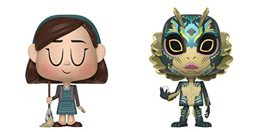 Funko Vynl: Shape of Water - Elisa & Amphibian Man Collectible Figure, Multicolor