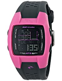 Rip Curl Women's A1041G  Oceansearch Black and Pink Digital Surf Watch
