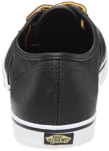 Schwarz Leder Unisex Sneaker Schwarz Erwachsene Pro Authentic Lo Vans pFcqW70zYO