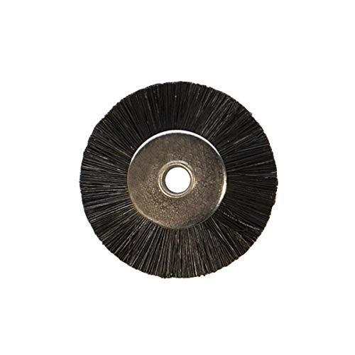 (Unmounted Miniature Wheel Brushes, Stiff Bristles, 3/4 Inch, 12 Pack | BRS-300.10)