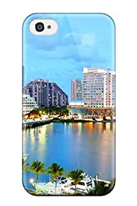 Valerie Lyn Miller Scratch-free Phone Case For Iphone 4/4s- Retail Packaging - Miami City