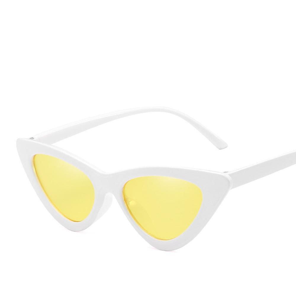 Aoligei Ojo de Gato Gafas de Sol pequeña Caja Gafas de Sol ...