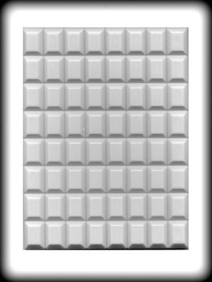 Pieces Hard Candy - Break Apart Rectangle Pieces Hard Candy Mold 8h-5730 By CK Products