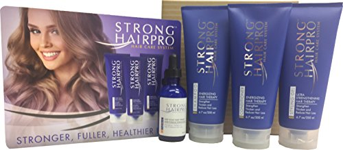 Hair Care System (Strong HairPro Hair Care System - Deep Scalp Hair Therapy & Follicle Stimulation (Full Set))