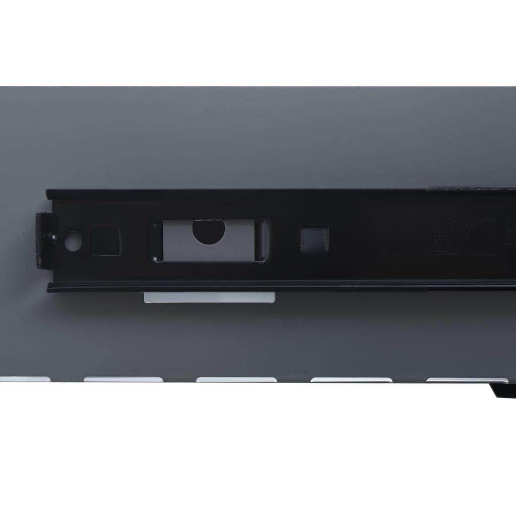 vidaXL Etabli Travaux de R/éparation Table de Travail Poste de Travail Garage Atelier Espace de Stockage Robuste Noir 120x60x85 cm Acier